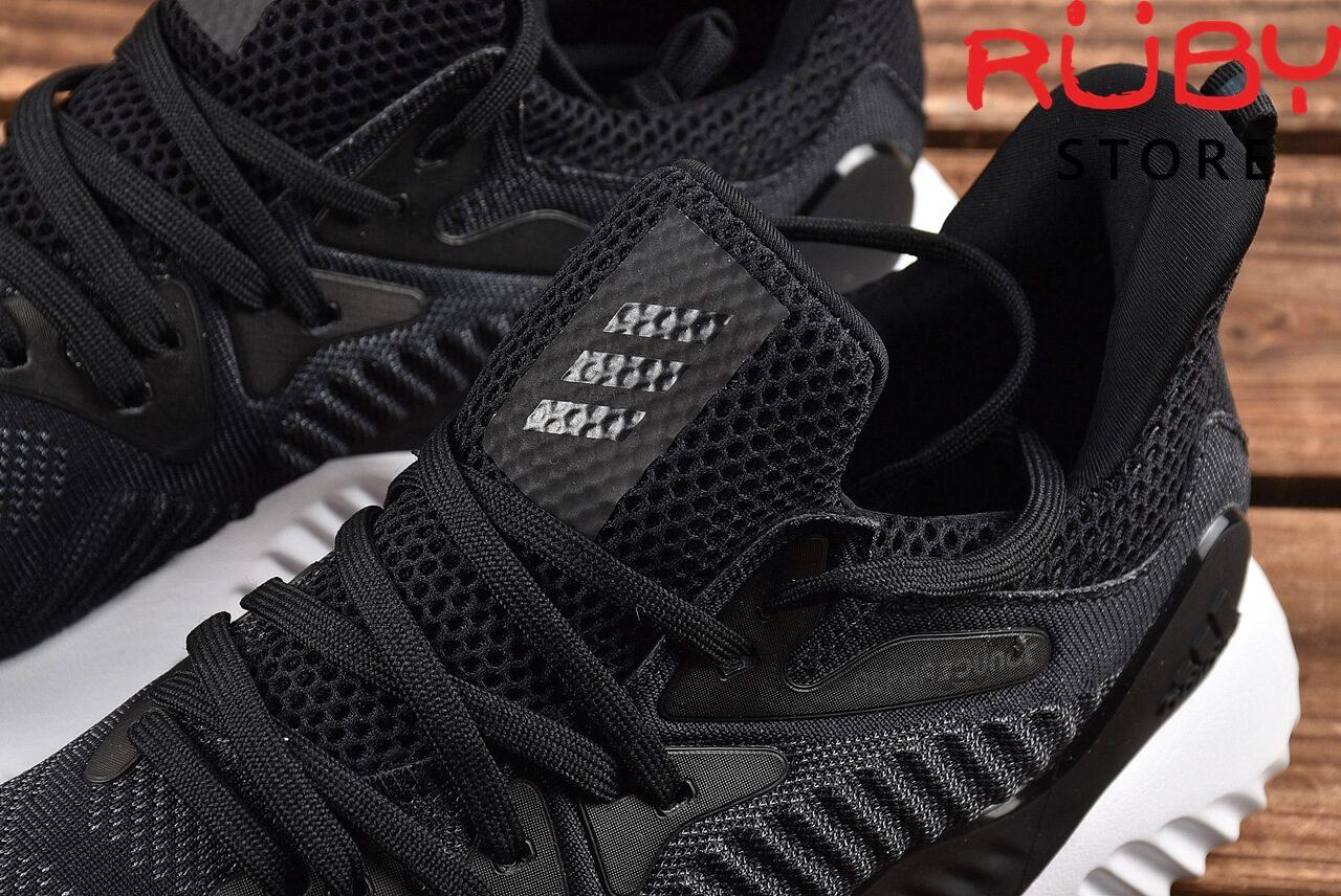 Giày Adidas Alphabounce Beyond Đen Đế Trắng 2018 - phần lưỡi gà