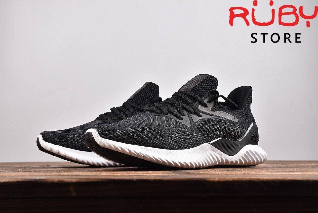 Giày Adidas Alphabounce Beyond Đen Đế Trắng 2018 - chụp đằng trước