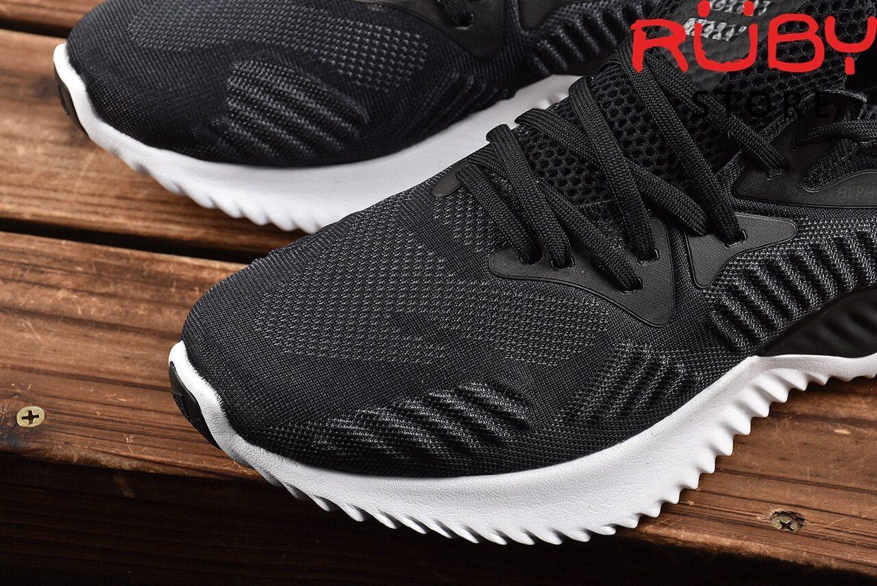 Giày Adidas Alphabounce Beyond Đen Đế Trắng 2018 - phần Upper