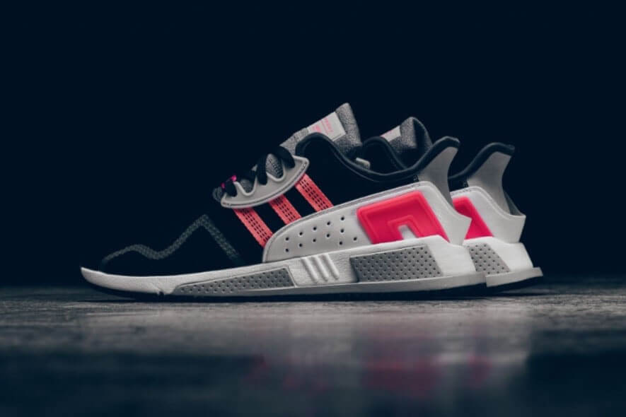 Adidas EQT cushion ADV hồng-đen-trắng