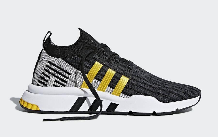 Adidas EQT cushion ADV đen vàng