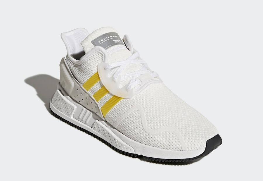 Adidas EQT cushion ADV trắng vàng