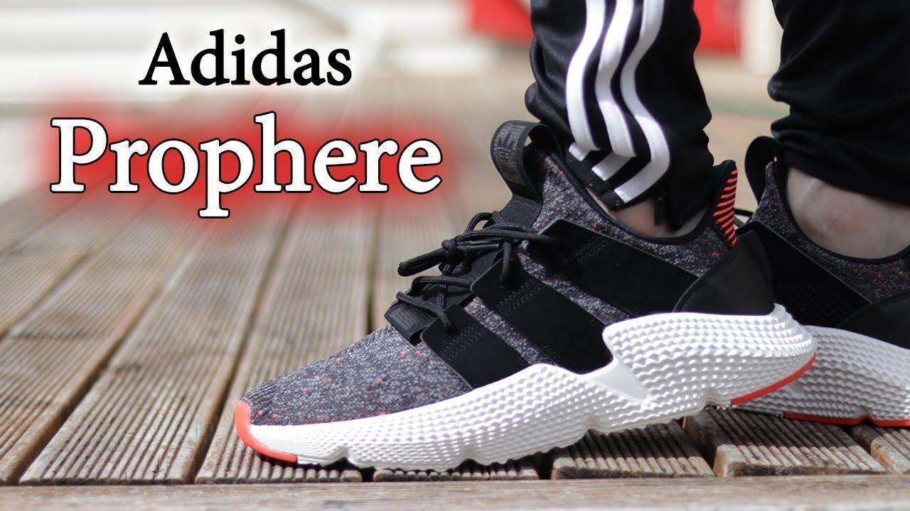 Mẫu giày Adidas Prophere thiết kế logo 3 sọc to