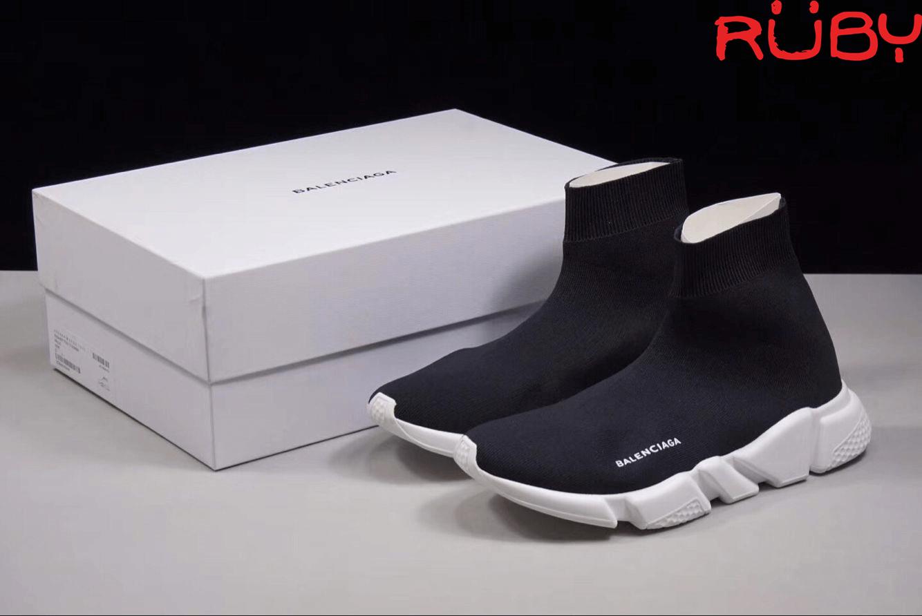Chất lượng thực sự của Balenciaga Speed Trainer replica đen