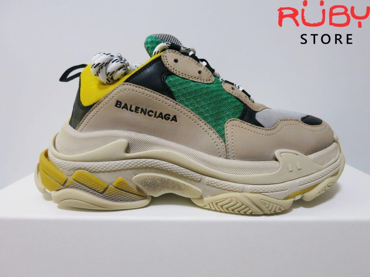 Giày Balenciaga Triple S Green