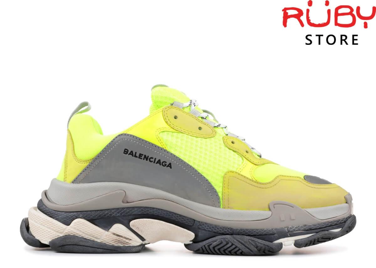 Giày Balenciaga Triple S Yellow