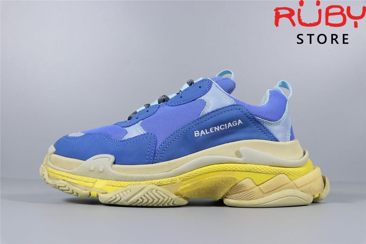 Giày Balenciaga Triple S Blue