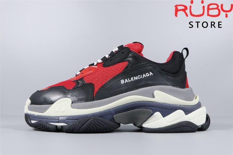 Giày Balenciaga Triple S Black Red