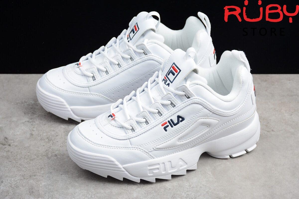 Giày Fila disruptor 2 trắng nam nữ giá rẻ HCM