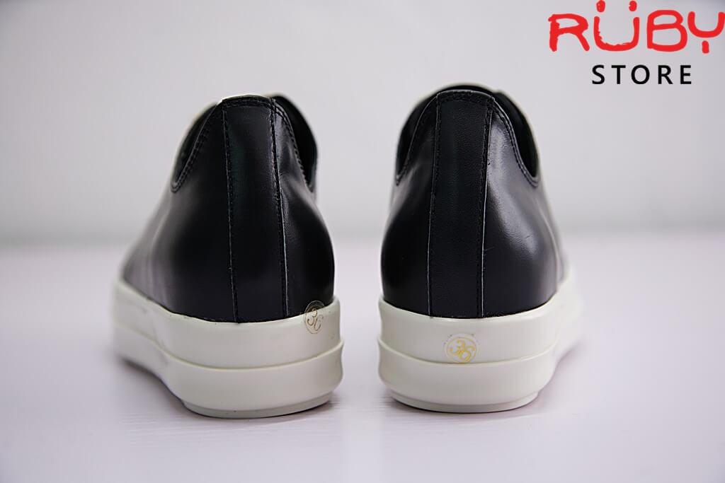 giày rick owen cổ thấp da replica 1:1 - Ruby store 5