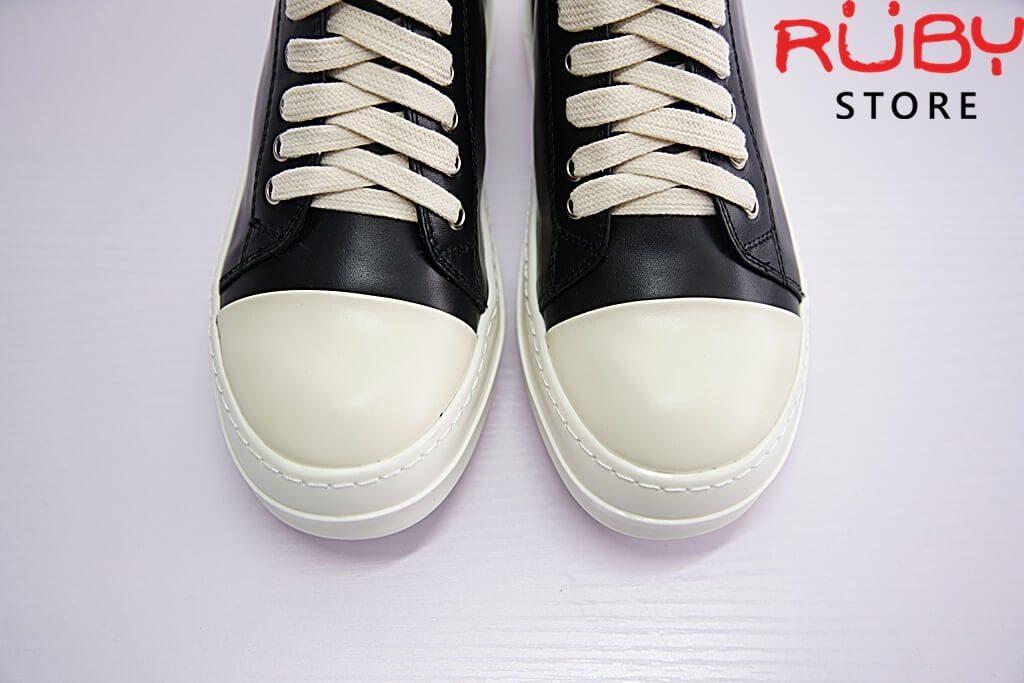 giày rick owen cổ thấp da replica 1:1 - Ruby store 3
