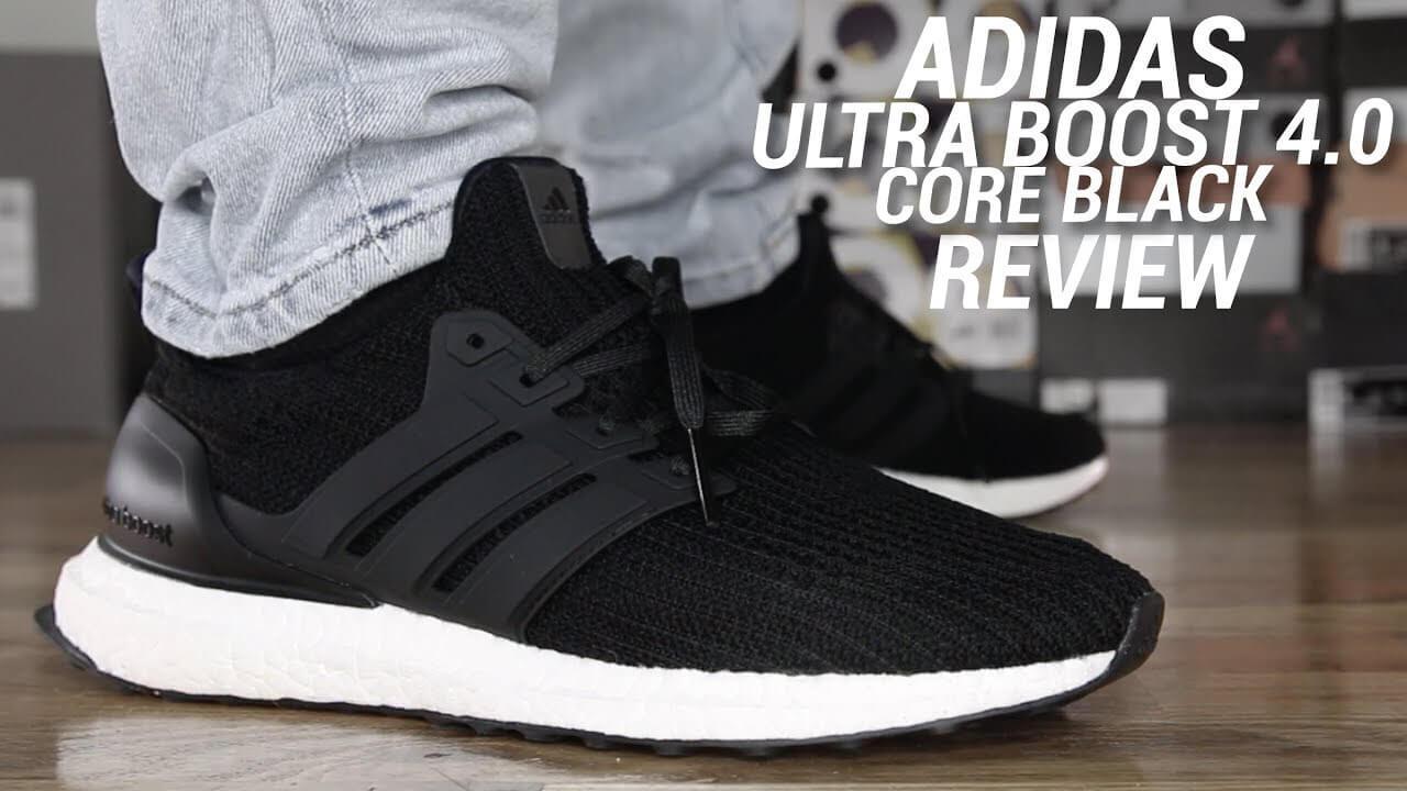 Ultra boost 4.0 core black đẹp sang trọng, hợp thời trang và dễ diện đồ trong mọi hoàn cảnh.
