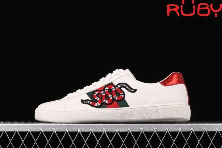 giày gucci rắn replica 1:1 siêu cấp