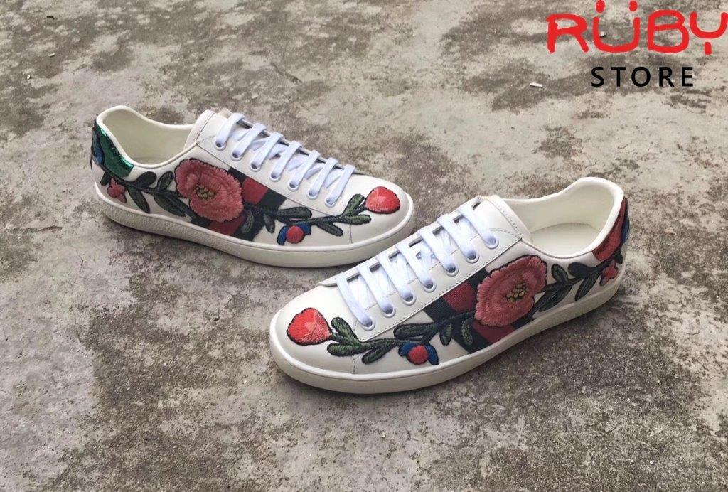 Giày Gucci Thêu Hoa (3)