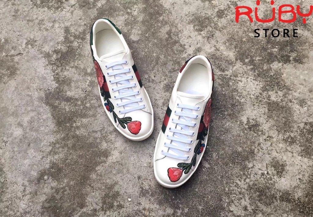 Giày Gucci Thêu Hoa (5)