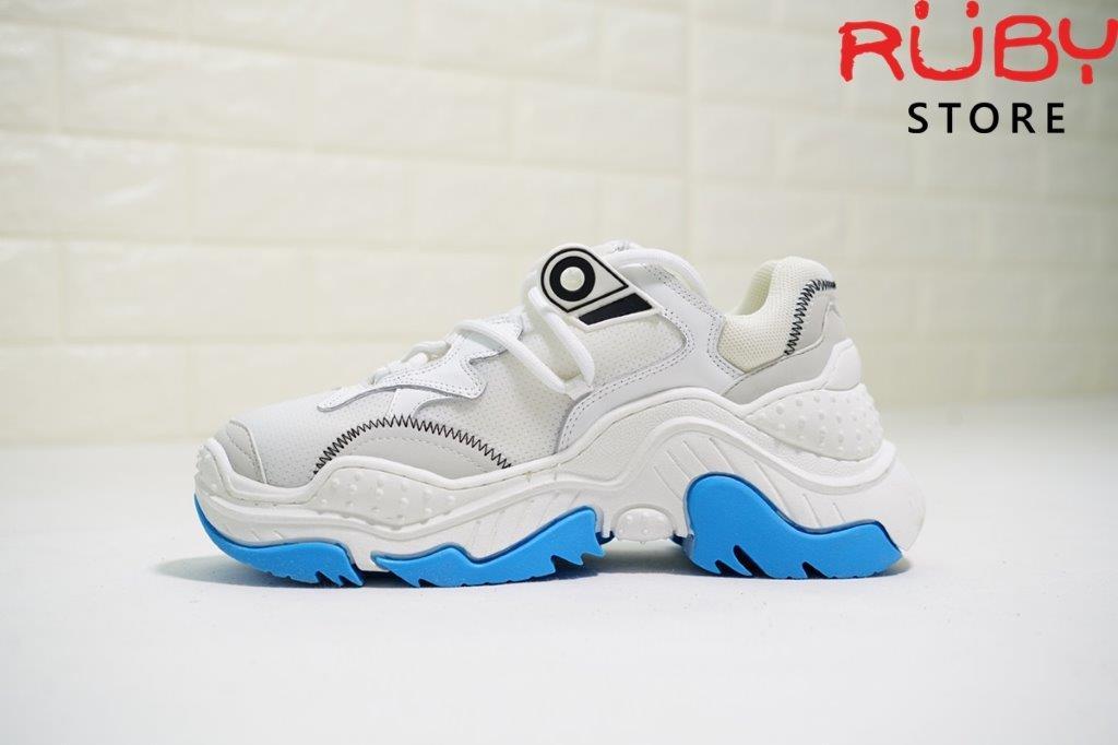 N°21 Billy sneaker màu trắng xanh