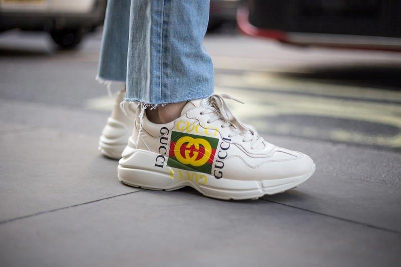 Giày Gucci Rhyton Sneaker - Chiến binh hoa mỹ | Ruby Store