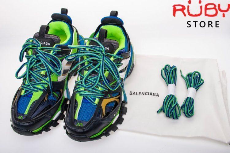 giày balenciaga track đen xanh lá 2019