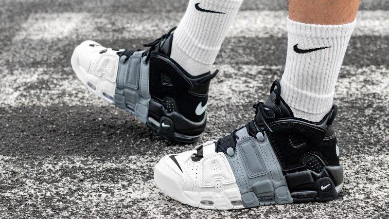 Giày Nike Air More Uptempo Tricolor