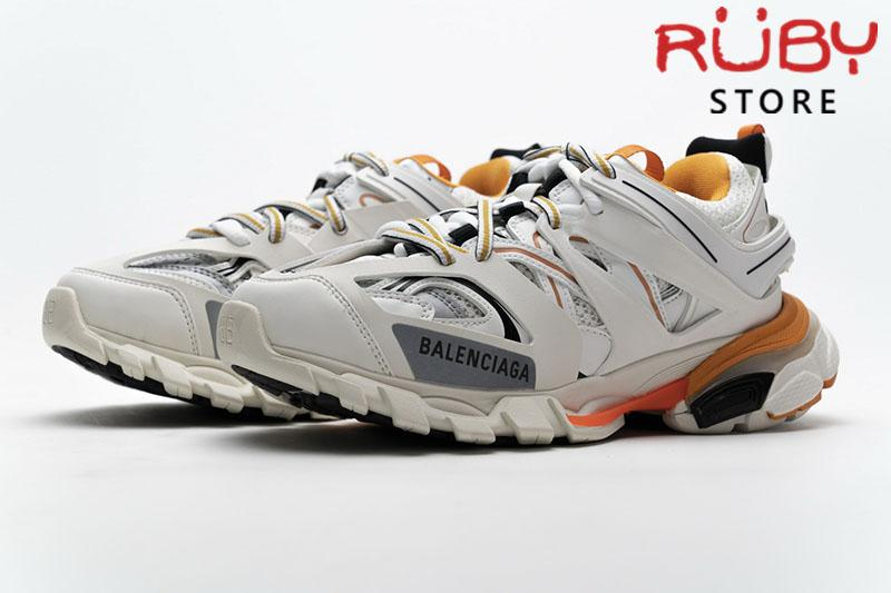 Giày Balenciaga Track 3.0 trắng cam rep 1:1 (siêu cấp)