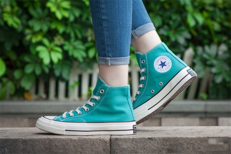 Giày Converse 1970s màu xanh cổ cao - Ruby Store