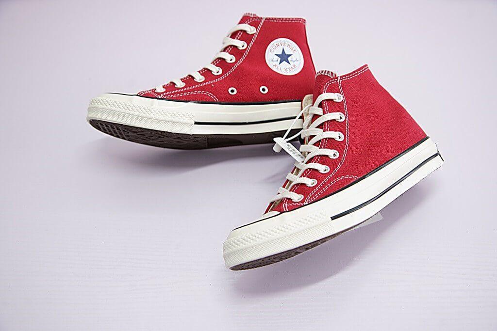 Giày Converse 1970s màu đỏ cổ cao - Ruby Store