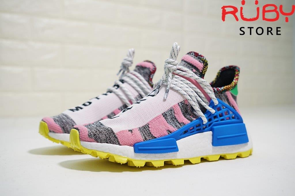 22350b15a Giày Pharrell Williams Solarhu Nmd Shoes Replica 1 1 Hồng. Full phụ kiện