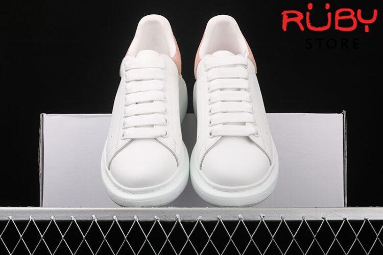 Giày Alexander McQueen gót hồng - upper