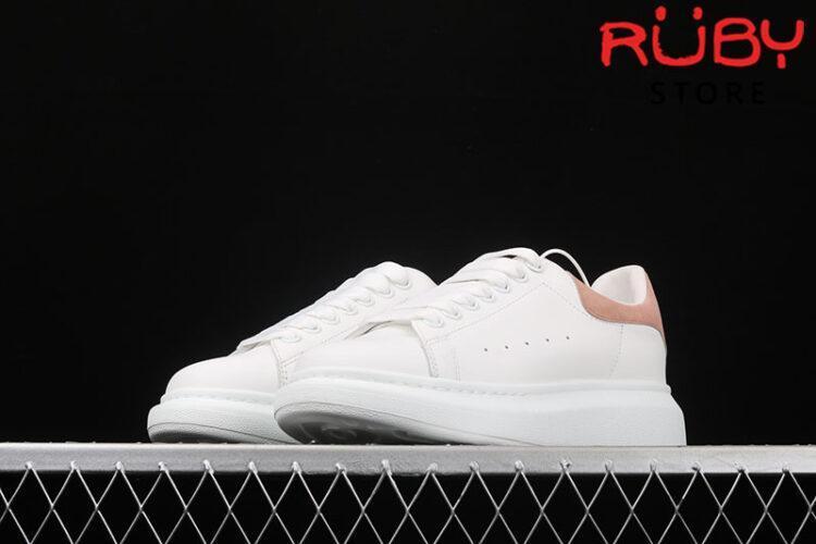 Giày Alexander McQueen gót hồng - mũi