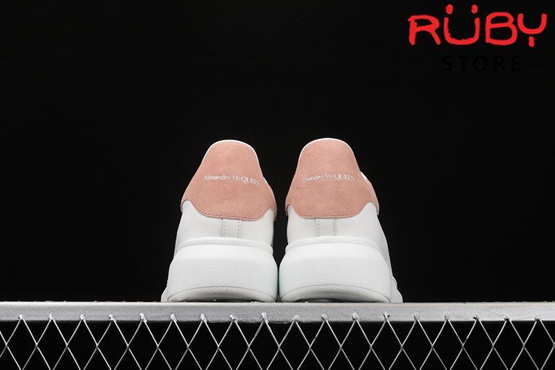 Giày Alexander McQueen gót hồng - gót