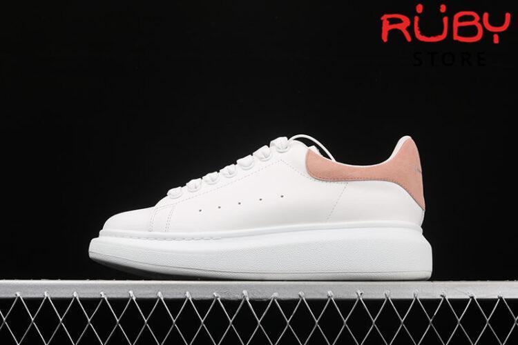 Giày Alexander McQueen gót hồng - trái