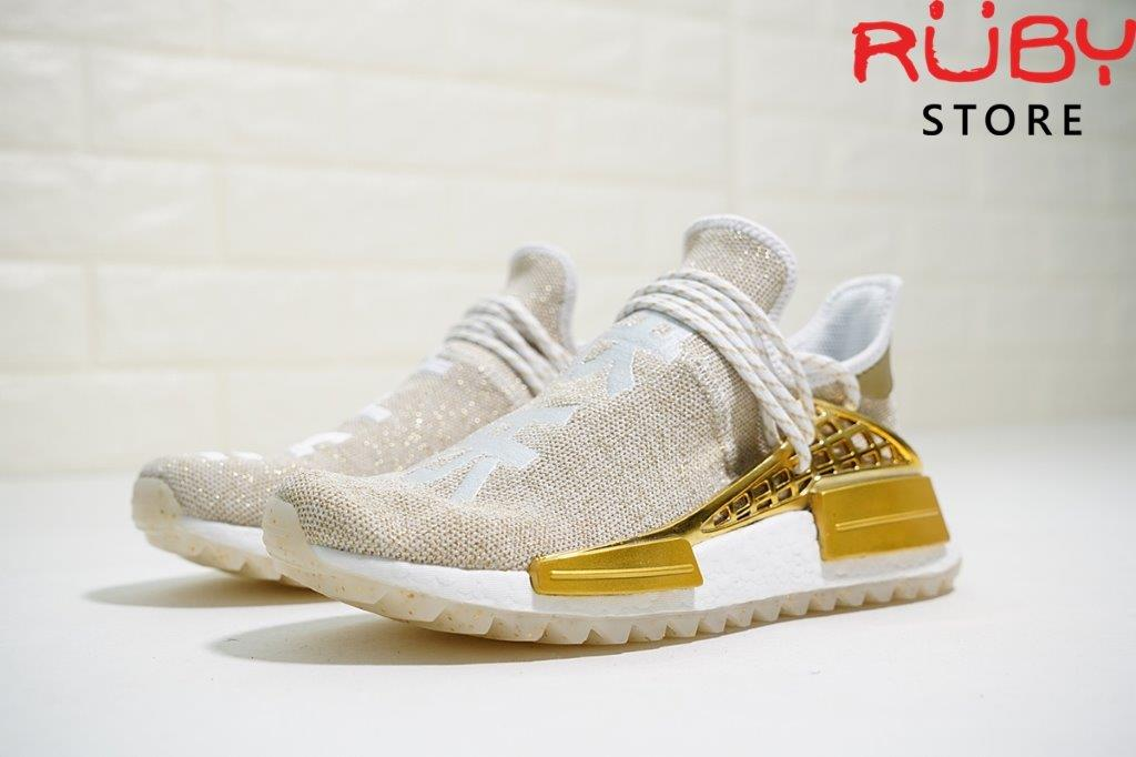 best sneakers f36df c35e5 Giày NMD Human Race China Exclusive Gold Happy - PK GOD