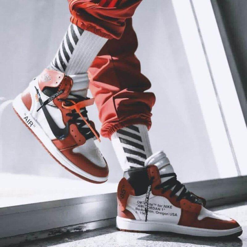 Giày Nike Air Jordan 1 Off White Replica 1:1 giá cực sốc | Ruby Store