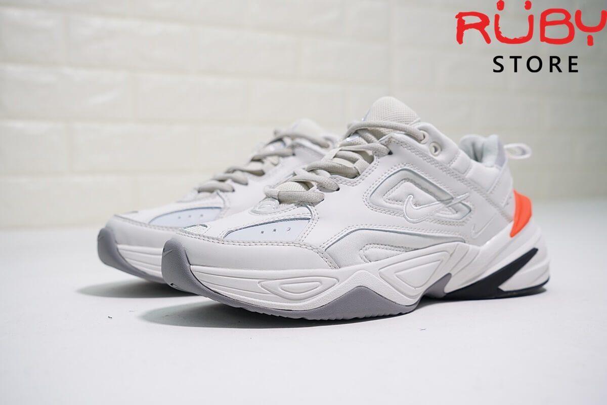Giày Nike M2k Tekno Trắng Cam Replica tại Ruby Store