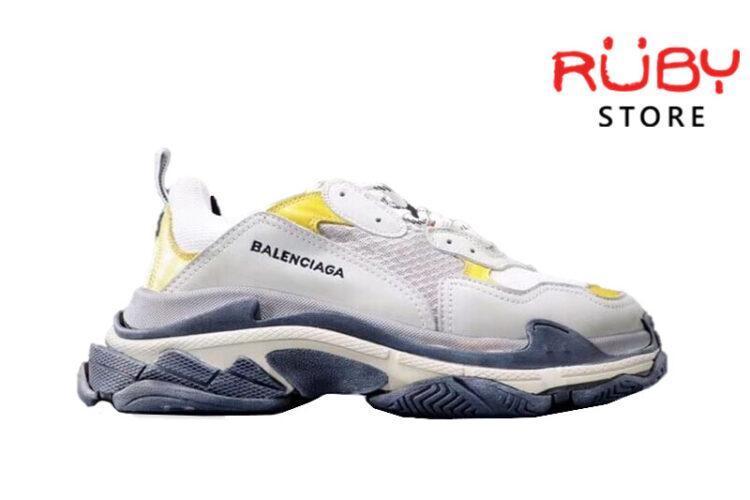 Giày Balenciaga Triple S Bicolour Replica 1:1 (Xanh Đỏ Trắng)