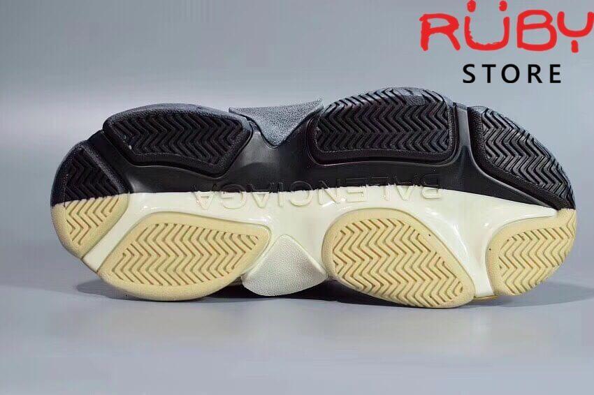 Giày Balenciaga Triple S Bicolour Replica 11 (Xám Đen) (4)