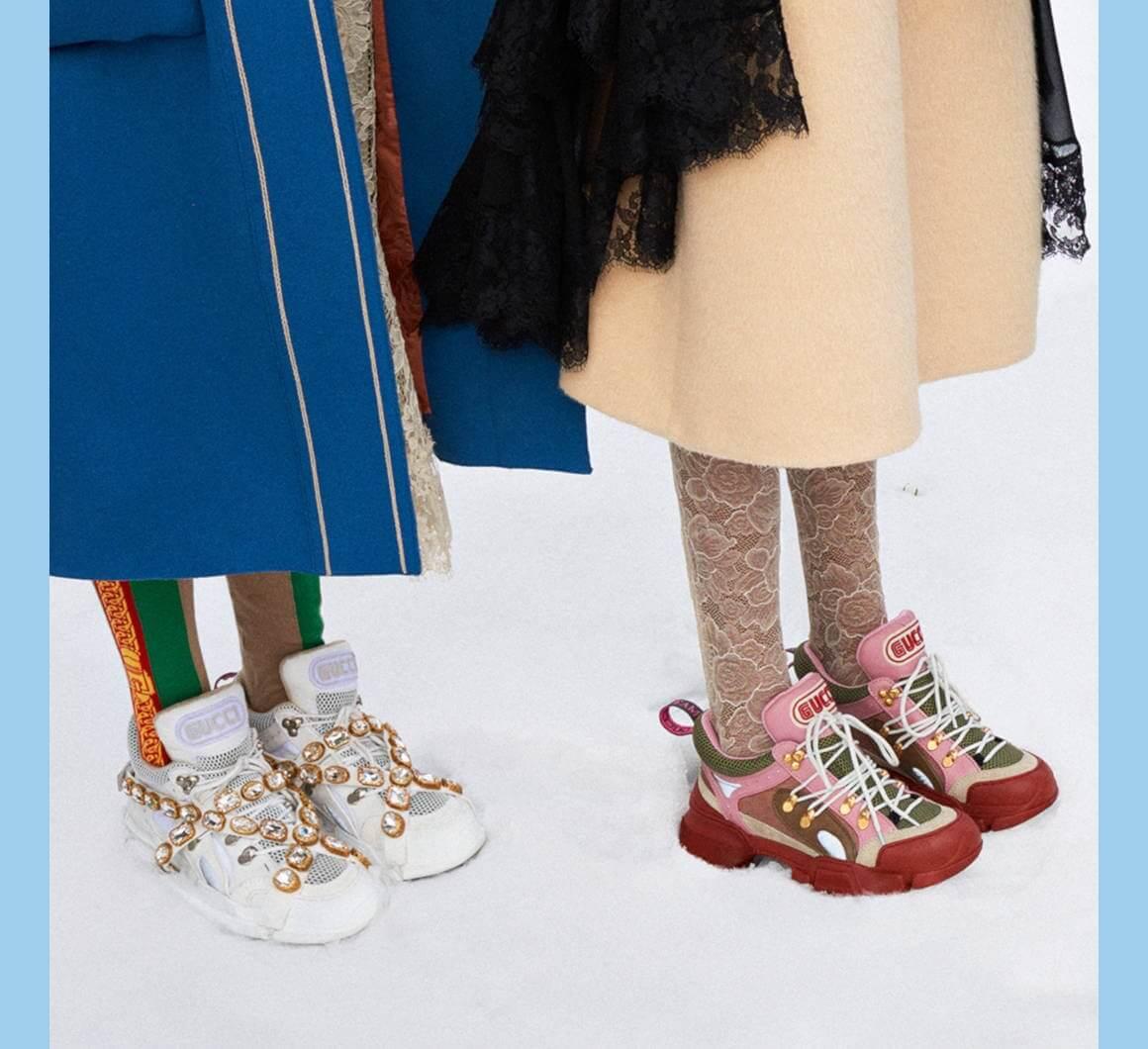 Gucci Flashtrek Sneaker có nhiều phiên bản màu khác nhau