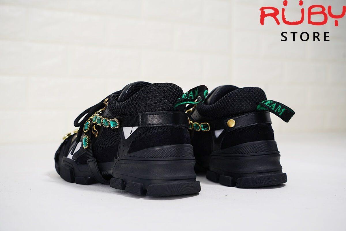 giày gucci slashtrek sneaker black replica1:1