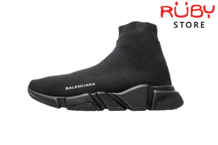 Giày Balenciaga Speed Trainer Đen Full Replica 1:1 Cao Cấp