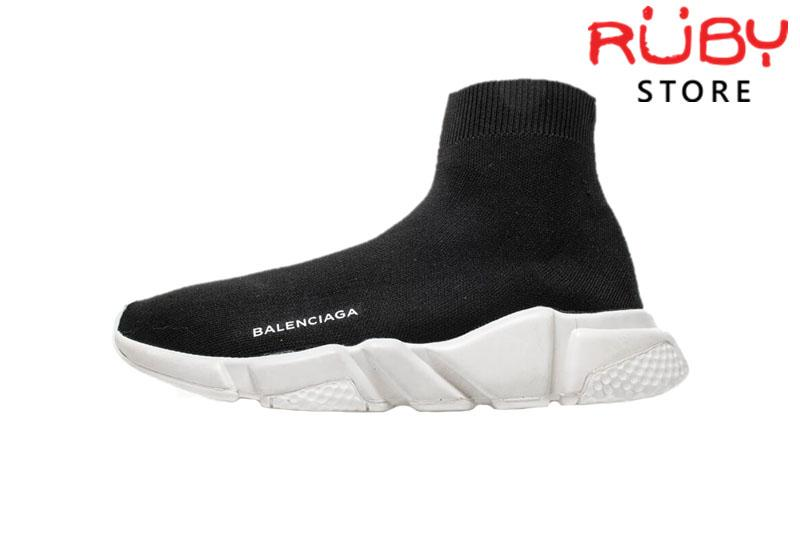 Giày Balenciaga Speed Trainer Đen Trắng Replica 1:1 Cao Cấp
