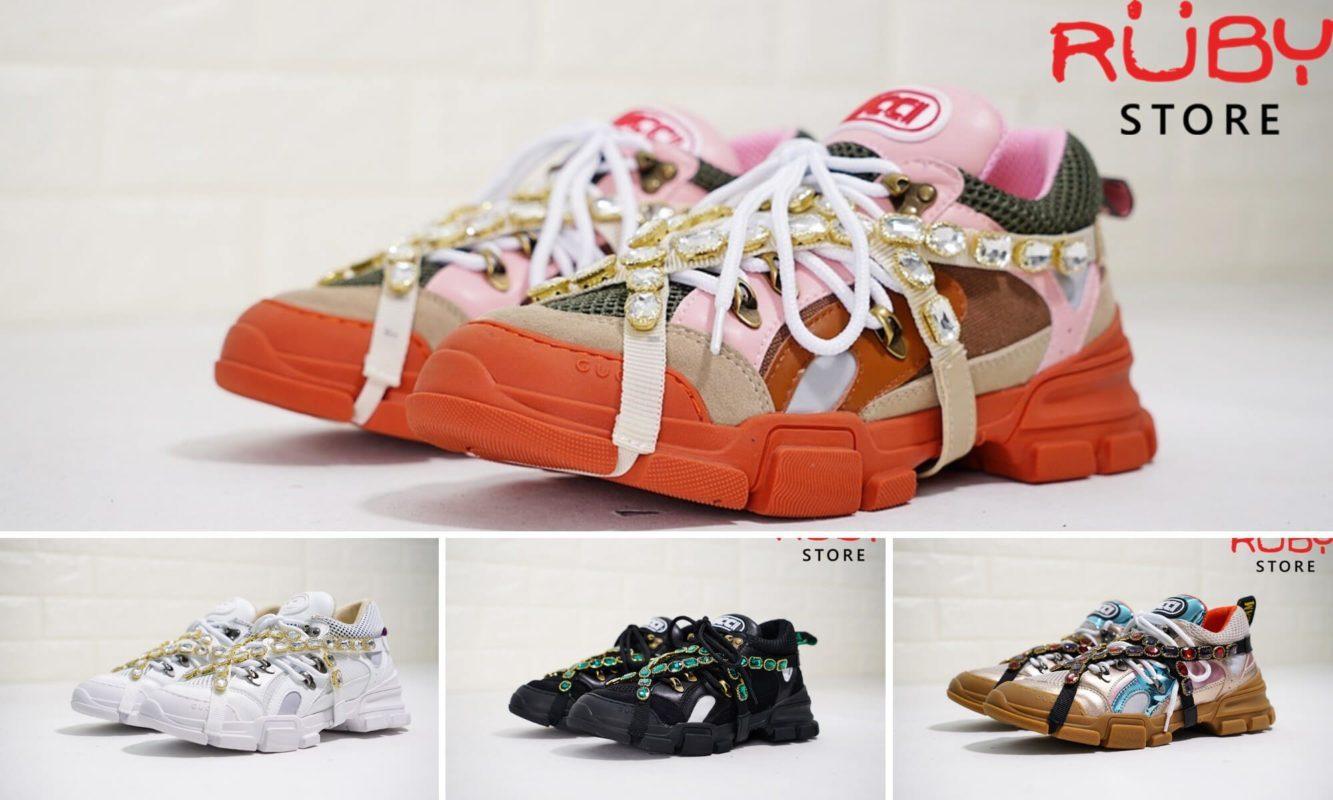 Những mẫu giày Gucci Flashtrek Sneaker replica tại Ruby Store