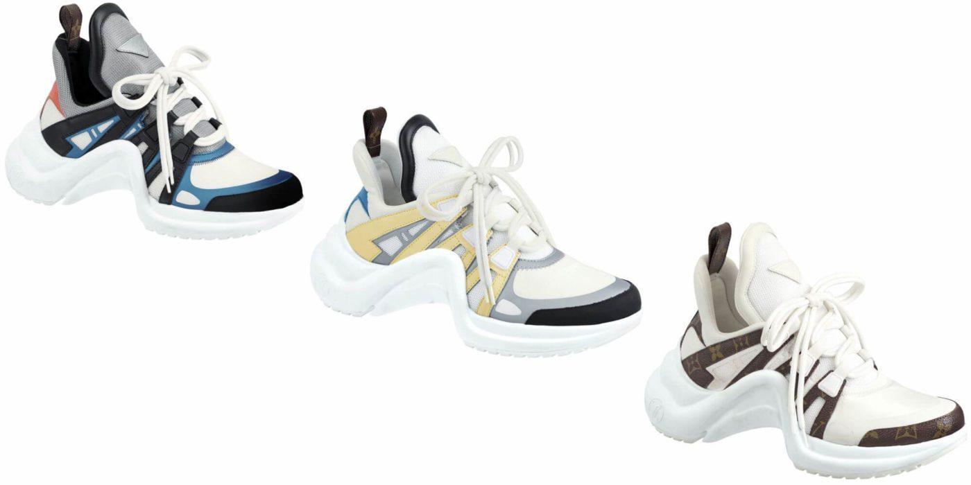 Mẫu giày độc lạ Louis Vuitton Sneakers