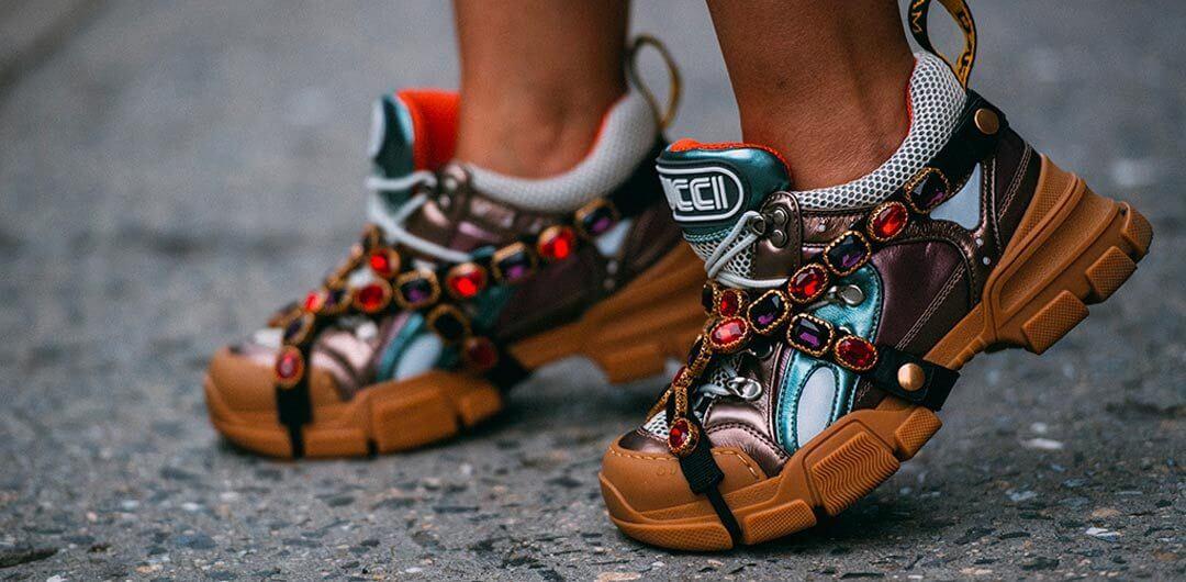 Giày Gucci Flashtrek sneakers