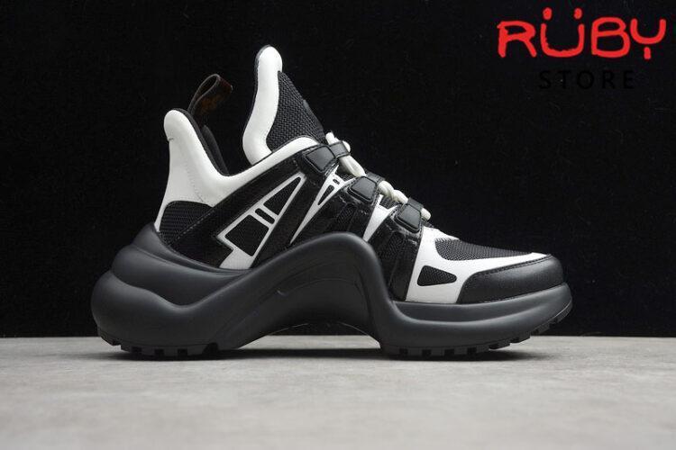 Giày Louis Vuitton Archlight Replica 1:1 (Đen Trắng)