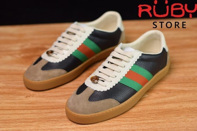 Giày-Gucci-Leather-And-Suede-Web-Sneaker-Replica-1.1-2019-ở-hcm (6)