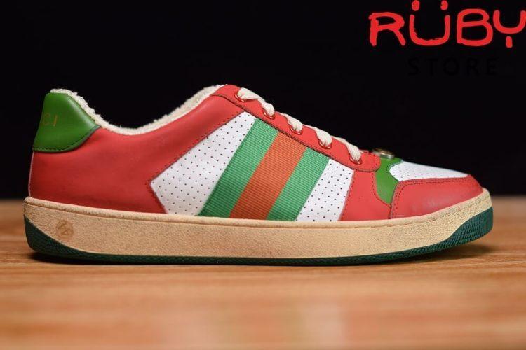 giày-gucci-Screener-Leather-Sneaker(đỏ)2019 (3)