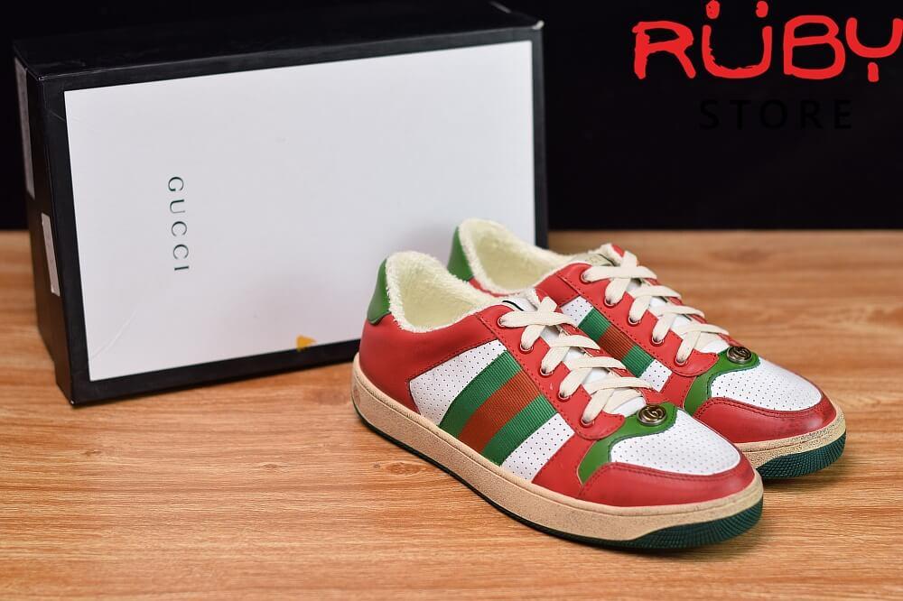 giày-gucci-Screener-Leather-Sneaker(đỏ)2019 (5)