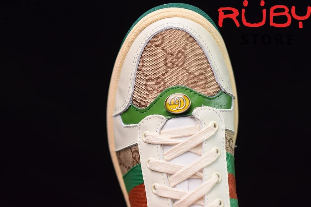 giày-gucci-Screener-Leather-Sneaker(trắng xanh lá gucci)2019 (5)
