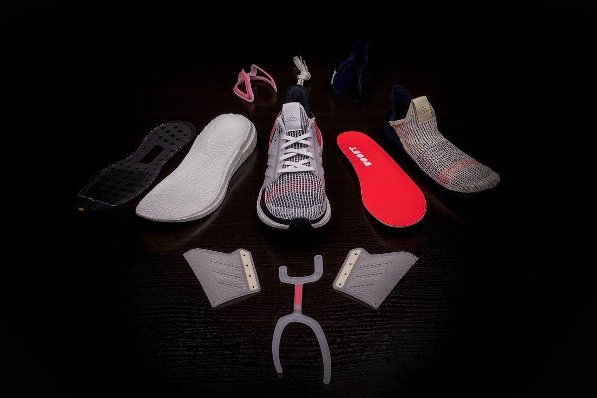 Các thành phần trong giày Ultra boost thế hệ thứ 5