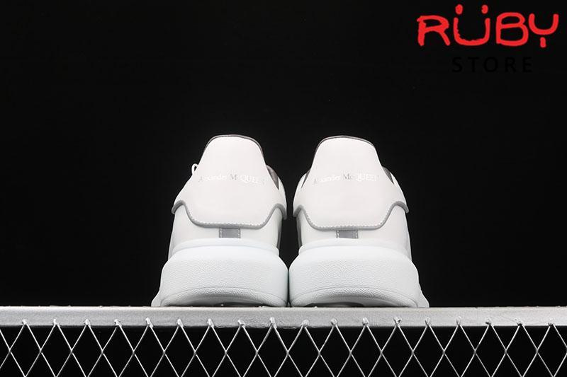 Giày Alexander McQueen phản quang - gót